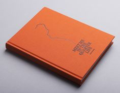 """A book design by 3rd Floor for """"Meet me in the quarter life by photographer Anne Lucassen."""