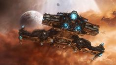 awesome pic of a battlecruiser!!!