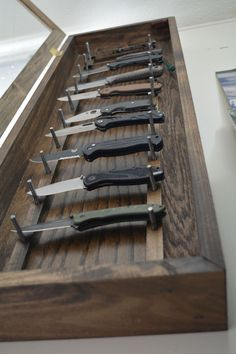 Knife Display Case