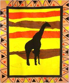 Tiere Afrikas   Stock-Vektor   Colourbox   Afrika   Pinterest