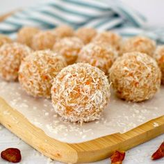 These are super healthy Carrot Cake Bites that are only 27 calories each! Low-Carb, vegan, paleo, ketogenic, gluten-free, sugar-free, and oil-free! The perfect kosher for Passover or Easter treat!
