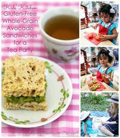 How to Have a Healthy and Courteous Tea Party Picnic: Ideas and menus for enjoying a healthy, courteous tea party picnic with toddlers through elementary-age kids; YouTube video and Montessori grace and courtesy ideas included! (Part of the Kids' Kitchen series)