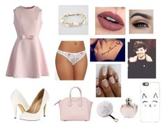 """""""Louis Tomlinson the cross dresser Pt. 4"""" by crazy-for-1d-5sos ❤ liked on Polyvore featuring Chicwish, L'Agent By Agent Provocateur, Nina Ricci, Givenchy, Full Tilt, Adrienne Landau, Michael Antonio, Casetify, women's clothing and women"""