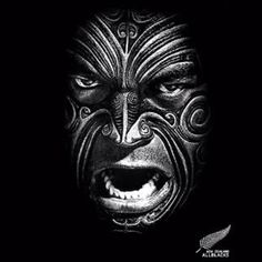 New Zealand Rugby - All Blacks! Best Rugby Team in The World All Blacks Rugby Team, Nz All Blacks, Maori All Blacks, Maori Face Tattoo, Maori Tattoos, Rugby Tattoos, Tomie Ohtake, Zealand Tattoo, New Zealand Rugby