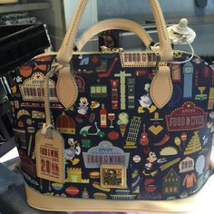 Epcot Food and Wine Festival Dooney And Bourke Bags Now Available!