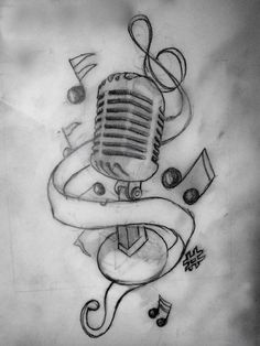 Microphone|tattoos