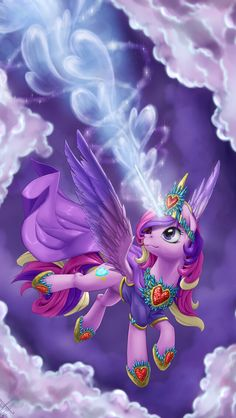 Princess Cadence all Dressed Flurry Heart, Chihiro Y Haku, Princess Cadence, My Little Pony Wallpaper, Unicorn Pictures, My Little Pony Characters, Mlp Fan Art, Imagenes My Little Pony, My Little Pony Pictures