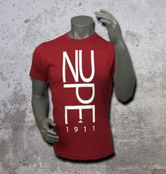 Casual and comfortable cotton blend, classic crew neckline, Nupe logo graphic, Imported T-Shirt #KAPPAALPHAPSI #NUPE #greekparaphernalia #greekgear #greekkulture #hbcu #divine9 #prettyboy #greekapparel