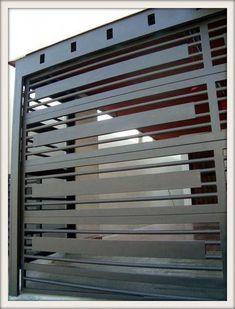 """INDUSTRIAL IDMA """"Ingeniería y Diseño Maldonado"""": PORTONES #Portones House Main Gates Design, Front Gate Design, Door Gate Design, House Front Design, Entrance Design, Fence Design, Balcony Grill Design, Window Grill Design, Front Gates"""