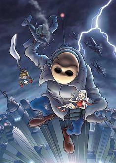 Leo Ortolani - Copertina Speciale Venerdì 12 (Colori Larry) Rat Man, Rats, Larry, Manga, Comics, Stupid, Anime, Sleeve, Manga Anime