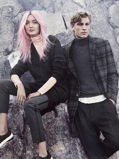 #åhléns #mode Goth, Punk, How To Wear, Style, Fashion, Gothic, Swag, Moda, Fashion Styles