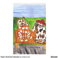 Tiger's Activity Calendar
