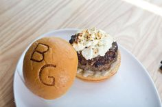 Burgers from Block & Grinder Charlotte