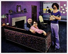 Frank Zappa and Parents, 1971 by MewDeep, via Flickr
