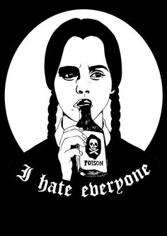 SHIRT HATE EVERYONE via NATTSKIFTET. Click on the image to see more!