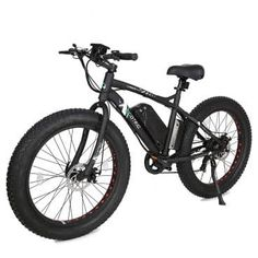 ECOTRIC Fat Bike Tire Wheel Men Snow Beach Mountain electric Bicycle electric moped - Works as you would expect. Mountain Bike Reviews, Electric Mountain Bike, Mountain Bicycle, Mountain Biking, Electric Bike Review, Electric Moped, Best Electric Bikes, Electric Vehicle, Bicycle Shop