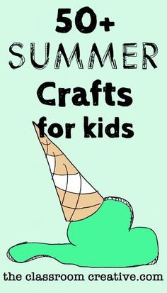 We have plenty of ideas to keep your kids crafting this summer!