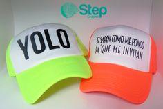 #gorras personalizadas trucker de colores