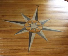 compass rose floor clorh - 1800 House Early American Arts and Crafts Programs of the Nantucket Historical Association