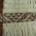 Maori Weaving detail. Inside of woven cloak. By rtibbett.  Flickr Maori Designs, Unity In Diversity, Maori Art, Cloak, Shag Rug, Weaving, Creative, Bodice, Baskets