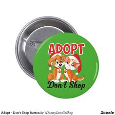 Adopt - Don't Shop Button
