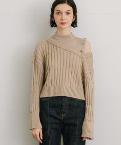 Creative Textiles, Knitwear Fashion, India Fashion, Knitted Shawls, Knitting Designs, Model Photos, Rib Knit, Lounge Wear, Winter Fashion