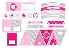 Printable anniversaire princesse #printable #anniversaire #princesse