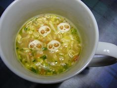 in the mug noodles Cute Food, Soup, Fish, Cooking, Ethnic Recipes, Noodles, Goals, Kitchen, Macaroni