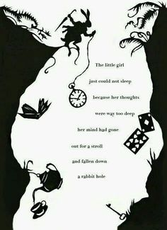 Ideas Disney Art Alice In Wonderland Ideas Alice Quotes, Poem Quotes, Cute Quotes, Cute Disney Quotes, Alice And Wonderland Quotes, Rabbit Hole, Osho, Beautiful Words, Quotes To Live By