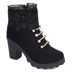 SHARE & Get it FREE | Sweet Women's Boots With Suede and Embroidery DesignFor Fashion Lovers only:80,000+ Items • New Arrivals Daily • Affordable Casual to Chic for Every Occasion Join Sammydress: Get YOUR $50 NOW!