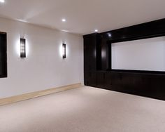 Media Room Basement Design, Pictures, Remodel, Decor and Ideas - page 21