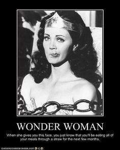 Wonder Woman does #blerg
