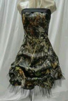 Camo dress I would wear it !!!!!!