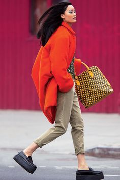 """""""Urban Soldier"""", Lily Zhi photographed by Hans Feuer in Teen Vogue November 2012 Street Style, Cool Street Fashion, Street Chic, Teen Vogue, Girl Fashion, Fashion Looks, Style Fashion, Winter Trends, Winter 2017"""