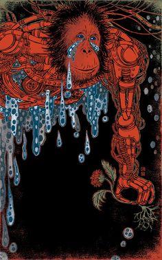 Yuko Shimizu - GENESIS book cover - yuko shimizu