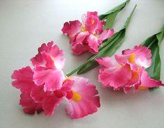 Wedding flower bouquet pink flower decor magnolia flower bush artificial flower supplies floral supply hot pink flower decor artificial silk flower large flower stem flower mightylinksfo