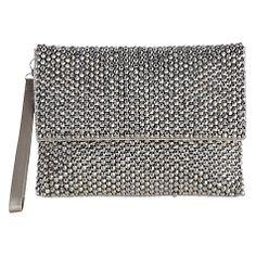 Buy Coast Felicia Clutch Handbag, Silver Online at johnlewis.com