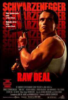 Raw Deal 27x40 Movie Poster (1986)