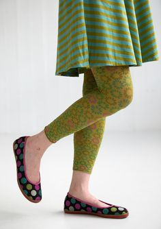 """Tussilago"" microfibre leggings – Accessories – GUDRUN SJÖDÉN – Webshop, mail order and boutiques 