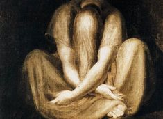Page of Silence by FUSELI, John Henry in the Web Gallery of Art, a searchable image collection and database of European painting, sculpture and architecture Tempera, Web Gallery Of Art, Symbolic Art, Raven Art, A Level Art, European Paintings, Life Drawing, Ancient Art, Figure Painting