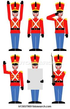 Toy soldier Illustrations and Clipart. 144 toy soldier royalty free illustrations, and drawings available to search from over 15 stock vecto. Christmas Yard Art, Christmas Drawing, Christmas Store, Kids Christmas, Christmas Crafts, Christmas Cookies, Christmas Ornament, Ornaments, Nutcracker Christmas Decorations