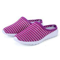 2d87fcedd  29.46  Women Mesh Breathable Casual Hollow Out Summer Slipper Sandals   women  mesh. Flip Flop ...