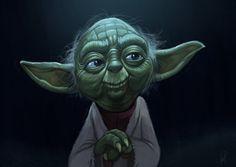 Les fan arts geeks de Jeff Delgado - Yoda