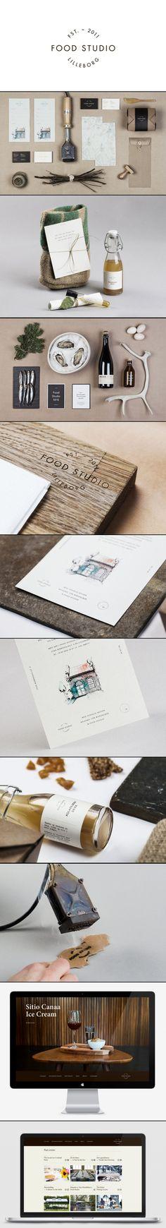food studio Design agency Bielke+Yang // #BrandIdentity #GraphicDesign #PrintDesign #Inspiration