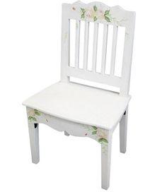 Vintage stolička Kvety - Najlepsinabytok.sk - Doprava ZDARMA!