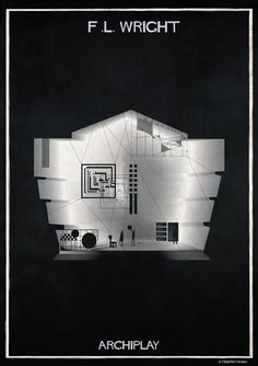 Gallery of Federico Babina's ARCHIPLAY Illustrations Imagine Set Designs by Master Architects - 27