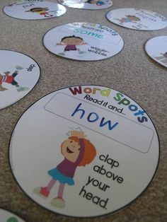 EDITABLE word spots to use with any word list. Plus, loads of other sight word activities.