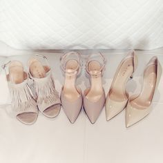 Nude is our favorite color, no matter what kind of shoe.
