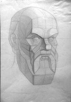 line drawing tattoo Anatomy Sketches, Anatomy Drawing, Anatomy Art, Drawing The Human Head, Rennaissance Art, Anatomy Sculpture, Face Sketch, 3d Studio, Pencil Art Drawings