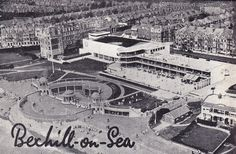 The De La Warr Pavilion & The Colonnade, Bexhill on sea. c. late 1930's.
